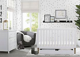 Delta Children Hendrix 4-in-1 Convertible Crib with Under Crib Storage, , rollover