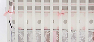 My Baby Sam Olivia Rose Crib Sheet, , rollover