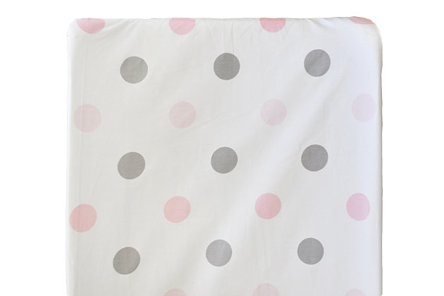 My Baby Sam Olivia Rose Changing Pad Cover, , large