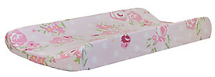 My Baby Sam Rosebud Lane Changing Pad Cover, , rollover