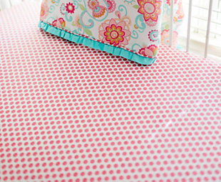 My Baby Sam Gypsy Baby Crib Sheet, , large