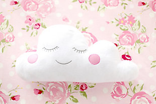My Baby Sam Cloudy Pink Throw Pillow, , large