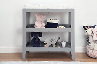 Carter's by Davinci Colby Changing Table, Gray, rollover