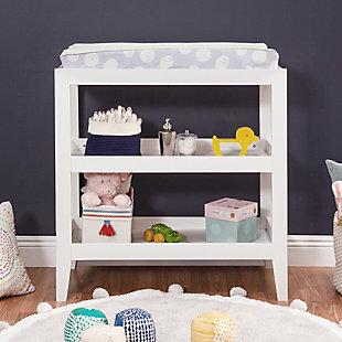 Carter's by Davinci Colby Changing Table, White, rollover