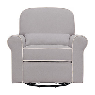Davinci Ruby Recliner and Glider, Gray, large