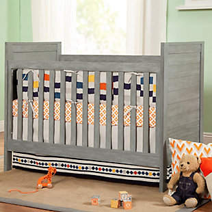 Davinci Fairway 3-in-1 Convertible Crib, Gray, rollover