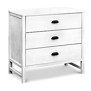 Davinci Fairway 3 Drawer Dresser, White, large