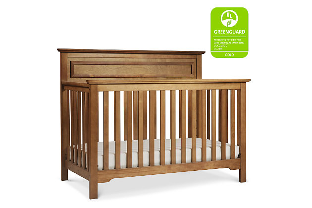 Davinci Autumn 4-in-1 Convertible Crib, Brown, large