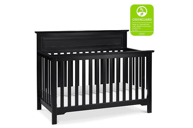 Davinci Autumn 4-in-1 Convertible Crib, Black, large