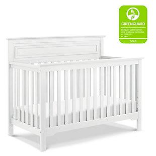 Davinci Autumn 4-in-1 Convertible Crib, White, large