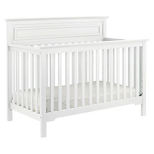 Davinci Autumn 4-in-1 Convertible Crib, White, large