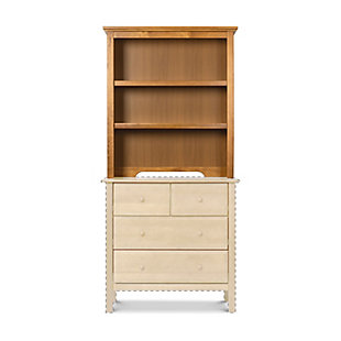 Davinci Autumn Bookcase/Hutch, Brown, large