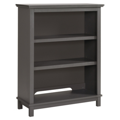 Davinci Autumn Bookcase/Hutch, Gray, large