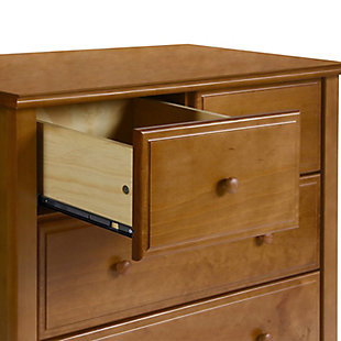 Davinci Autumn 4 Drawer Dresser, Brown, large