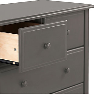 Davinci Autumn 4 Drawer Dresser, Gray, large