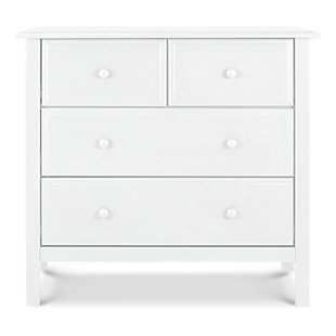 Davinci Autumn 4 Drawer Dresser, White, rollover