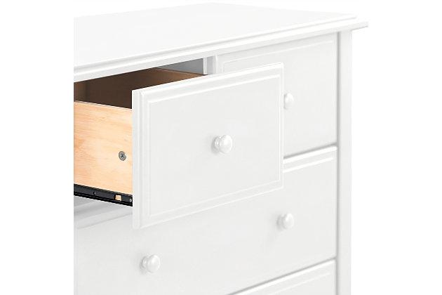 Davinci Autumn 4 Drawer Dresser, White, large