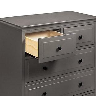 Davinci Signature 5 Drawer Tall Dresser, Gray, large