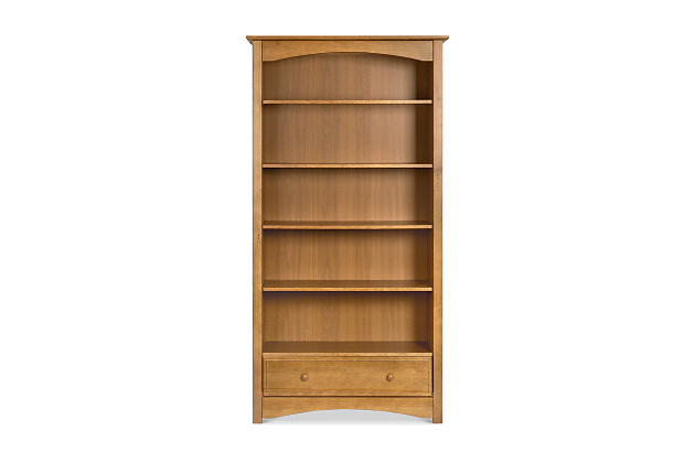 Davinci MDB Bookcase, Brown, large