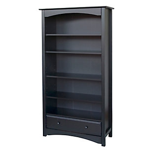 Davinci MDB Bookcase, Black, large