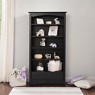 Davinci MDB Bookcase, Black, rollover