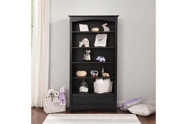 Davinci MDB Bookcase, Black, large