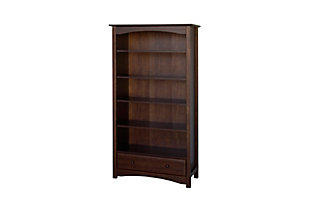 Davinci MDB Bookcase, Dark Brown, large