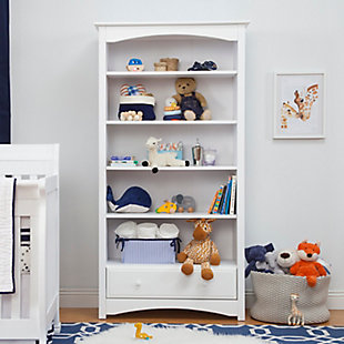 Davinci MDB Bookcase, White, rollover