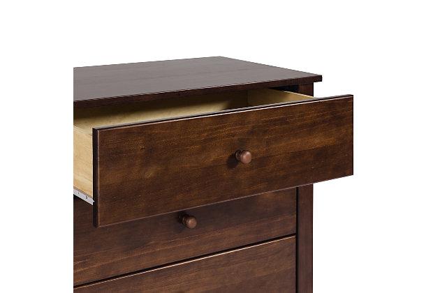 Carter's by Davinci Morgan 3 Drawer Dresser, Brown, large