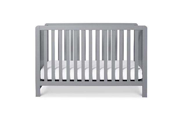 Carter's by Davinci Colby 4-in-1 Low Profile Convertible Crib, Gray, large