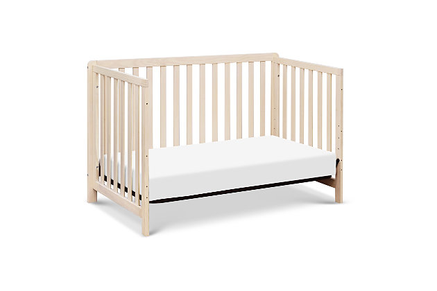 Carter's by Davinci Colby 4-in-1 Low Profile Convertible Crib, Beige, large
