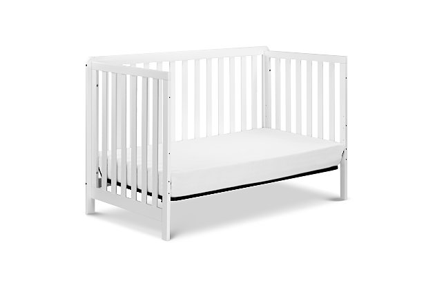 Carter's by Davinci Colby 4-in-1 Low Profile Convertible Crib, White, large