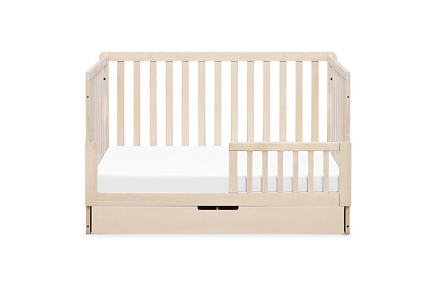Carter's by Davinci Colby 4-in-1 Convertible Crib with Trundle Drawer, Beige, large