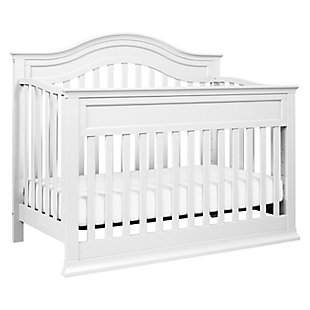 Davinci Brook 4-in-1 Convertible Crib with Toddler Conversion Kit, White, large
