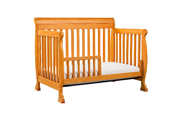 Davinci Kalani 4-in-1 Convertible Crib, Natural, large