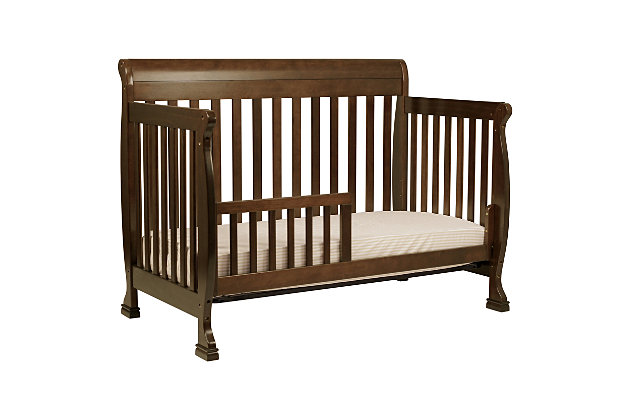 Davinci Kalani 4-in-1 Convertible Crib, Dark Brown, large
