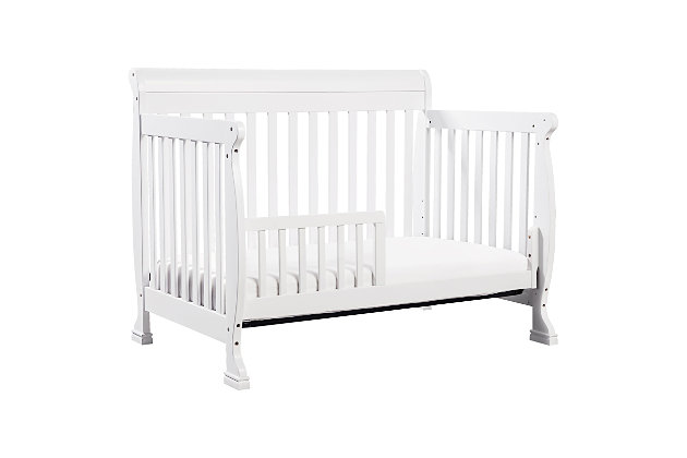 Davinci Kalani 4-in-1 Convertible Crib, White, large