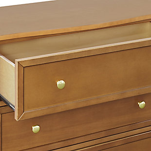 Davinci Kalani 3 Drawer Dresser, Brown, large