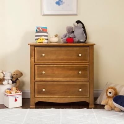 Davinci Kalani 3 Drawer Dresser, Brown, large
