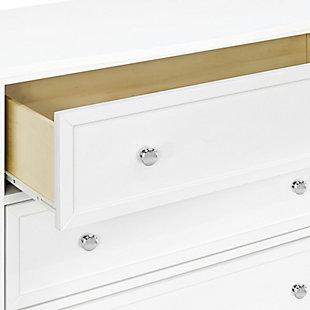 Davinci Kalani 3 Drawer Dresser, White, large