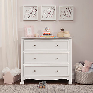 Davinci Kalani 3 Drawer Dresser, White, rollover