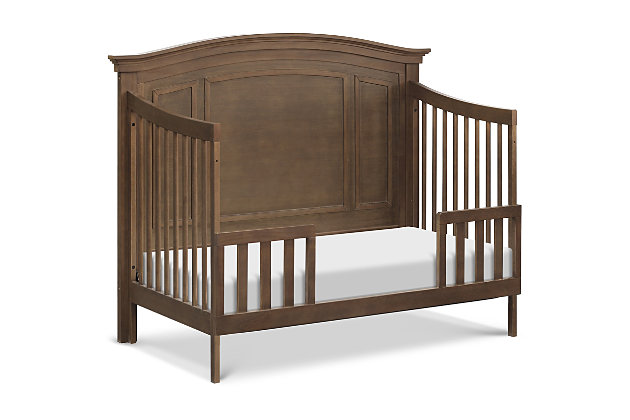 Durham 4-in-1 Convertible Crib with Toddler Bed Conversion Kit, , large