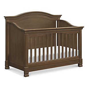 Million Dollar Baby Classic Louis 4-in-1 Convertible Crib with Toddler Bed Conversion Kit, , large