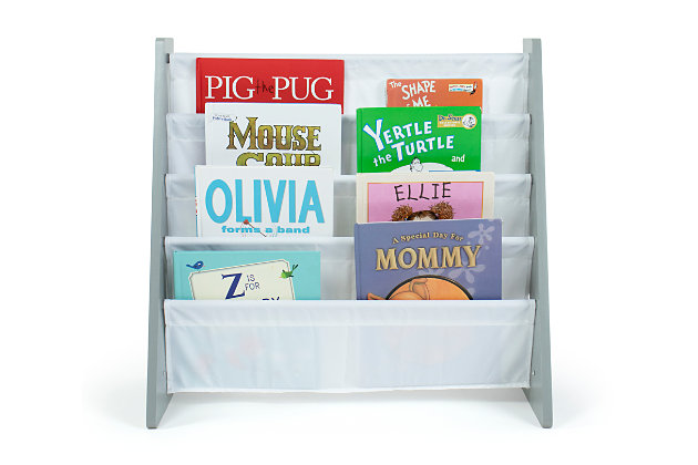 Kids Bookshelf 4 Tier Book Organizer, , large