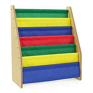 Kids Super Sized Bookshelf 6 Tier Book Organizer, , large