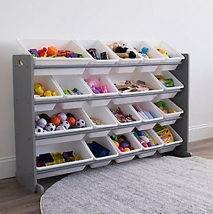 Kids Inspire Extra-Large Storage Organizer with 20 Bins, , rollover