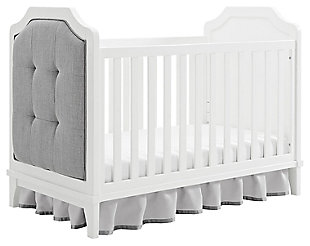Baby Relax Luna 3-in-1 Upholstered Convertible Crib, , large