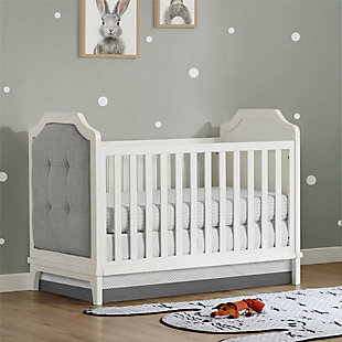 Baby Relax Luna 3-in-1 Upholstered Convertible Crib, , rollover