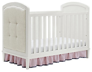 Baby Relax Senna 3-in-1 Upholstered Convertible Crib, , large