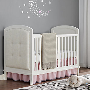 Baby Relax Senna 3-in-1 Upholstered Convertible Crib, , rollover